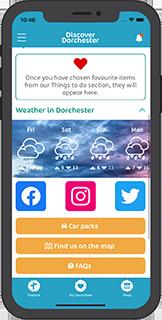 Discover Dorchester App Screenshot
